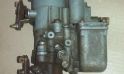 Ford willys jeep original carter w.o.carburetar