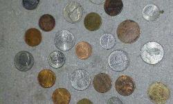 Foreign coins 32 coins looking so nice