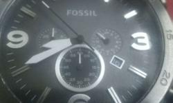 Fossil original wrist watch , with warranty card and