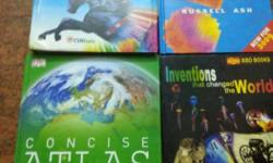 Four Assorted Textbooks, price negotiable