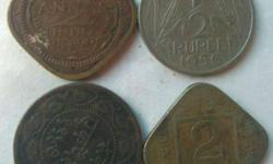 Four Copper very old coin collection