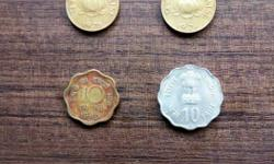 Four Indian Paise Coins