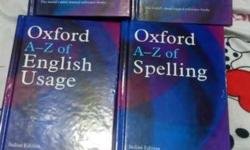 Four Oxford A-Z Books