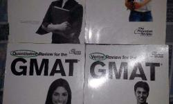 1. Set of four PR/Manya GMAT Guidebooks. Includes