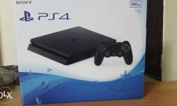 fresh sony ps4 console under 11 months waranty with
