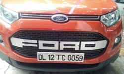 Presenting Front Grill For Eco sport FORD logo on it