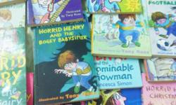 full collection of Horrid Henry Books 19.condition new