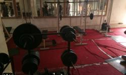full gym material and metal machines and metal weight