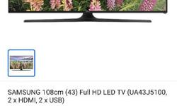 Full HD LED tv Samsung 43 inch 80748.14014