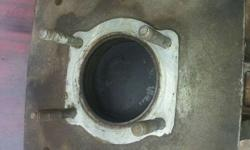 Gray Metal Car Part