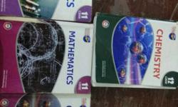 Fullmarks set of 5 11th maths, physics, chemistry 12th