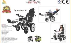 Electric Wheelchair for Indoor/ Outdoor use. Fully