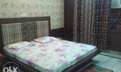 Fully furnished room available attached bathroom brs