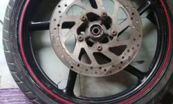 Fz s front alloy wheel with disc scale