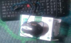 Gameing mouse dragon war 3200 dpi and i ball keyboard