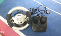 Gaming car race wheel controller for immediate sale