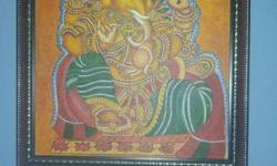 Ganesha Painting In Framed