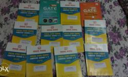 Complete set of GATE Computer Science Books in perfect
