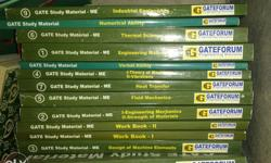 Gate Study Material All 9 subject books Verbal ability