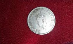 George 6 King Emperor British Indian Coin