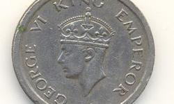 I want to sell my GEORGE VI KING EMPEROR coin of 1947