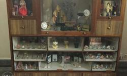 German wood made showcase in very good condition