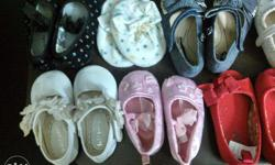 We have many pairs for girl baby footwear for age of 3