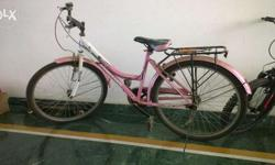 Barely used, almost new cycle for older girls and
