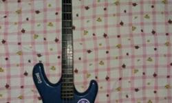 Givson Bass guitar in excellent condition with 4