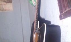 Givson jumbo guitar electro acoustic