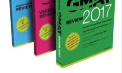 Gmat Books Official Set + 3 more books