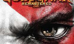 god of war 3 remastered for ps4 available for exchange