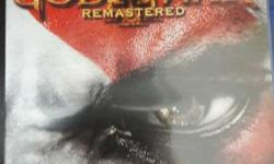 God of war 3(remastered version)literally unused