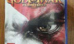 God Of War Remastered For PS4 In Brand New Condition