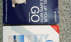 Golang books in very good condition