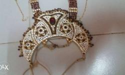 Gold Diamond Bib Necklace