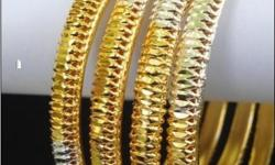 Type: Jewelry Object/Variety: Bangles Gold plated
