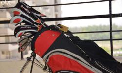 2 Year Old, Rarely used full Set Golf Club with Bag and