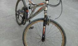 Good condition, all gears are working, new seat, both