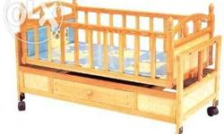 Good condition hardly used baby cot for sale