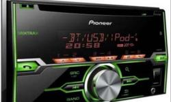 good condition , pioneer cd , hd voice , aux usb with