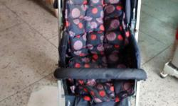 Blue colour good quality pram available for sale.