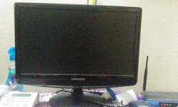 Good running conditioned Samsung moniter zebronic cpu