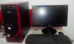 Good working system, Cor 2 Duo, ram 2gb, hdd 250gb,