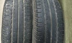 Goodyear 195/65 R 15 2 tyres for sale good condition