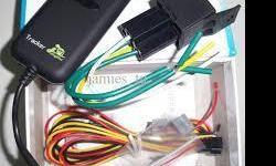 GPS vehicle Tracker Built-in GSM and GPS network