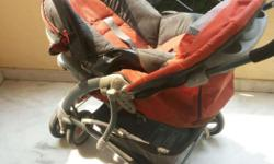 Graco stroller with car seat ( Carry Cot ) in excellent