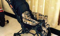Graco Pram - hardly used, in good condition. Blue &