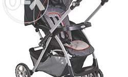 Graco stroller(Alano Flip It) Sparingly used, 3 yr old,