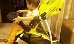 I am selling a Graco stroller, flouroscent green